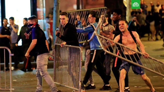 В Брюсселе фанаты устроили беспорядки после проигрыша Бельгии на ЧМ