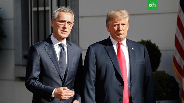 Трамп назвал Германию заложником России