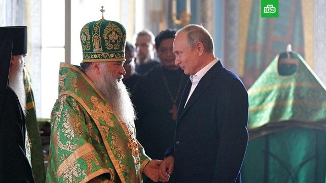 Путин приехал на Валаам