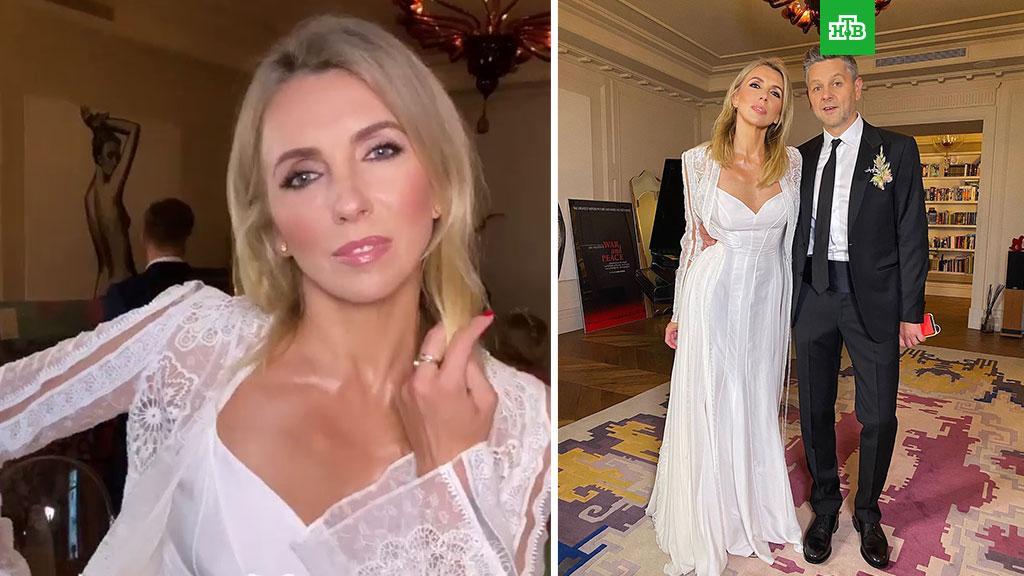 Светлана Бондарчук вышла замуж в платье за 700 тысяч // НТВ.Ru